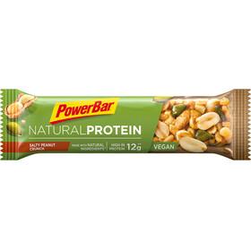 PowerBar Natural Protein Bar Box 24x40g, Salty Peanut Crunch (Vegan)
